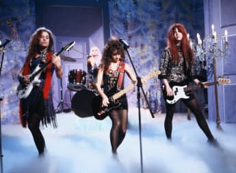 The Bangles on stage 1989