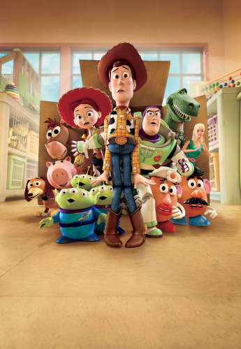The cast of 'Toy Story'