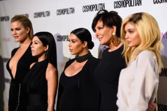 Khloe Kardashian, Kourtney Kardashian, Kim Kardashian, Kris Jenner and Kylie Jenner attend Cosmopolitan's 50th Birthday Celebration.
