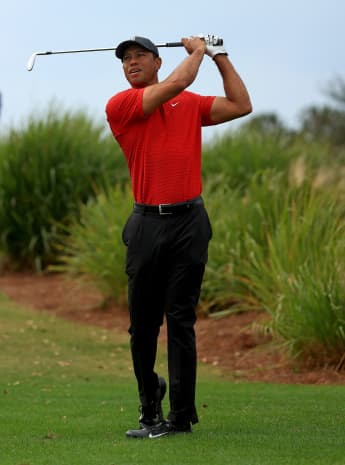 Tiger Woods in 2020