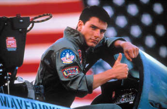 Tom Cruise in 'Top Gun' 1986
