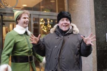 Will Ferrell and director Jon Favreau