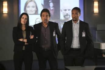 Criminal Minds protagonizada por Paget Brewster, Joe Mantegna y Damon Gupton