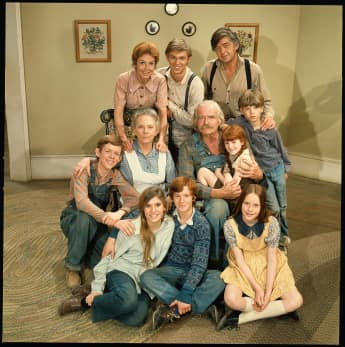 """The cast of """"The Waltons"""""""