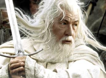 Ian McKellen en una imagen promocional de la película 'El señor de los anillos'