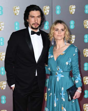 Adam Driver y Joanne Tucker