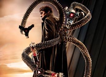 Alfred Molina en una imagen promocional de la película 'Spider-Man 3'