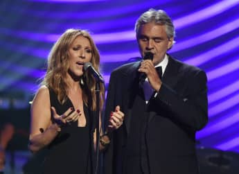 """Andrea Bocelli And Celine Dion Send Message Of Unity In Lyric Video For Beloved Track """"The Prayer"""""""