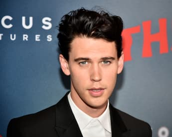 Actor Austin Butler on the red carpet at the premiere of The Dead Don't Die.
