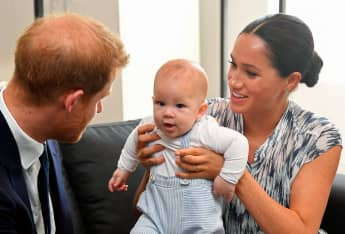 Baby Archie Makes A Special Podcast Appearance With Harry And Meghan