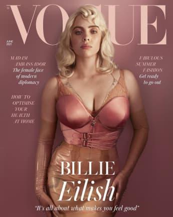 Billie Eilish Stuns In Revealing Photoshoot For 'British Vogue'
