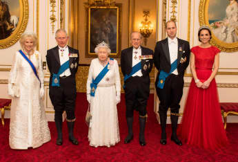 British Royal Family 2021 calendar Buckingham Palace Prince William Kate The Queen Prince Philip Duchess Camilla