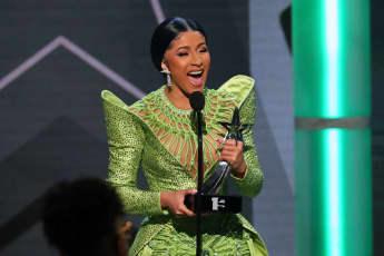 Cardi B at the 2019 BET Awards