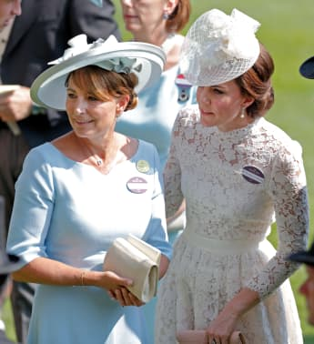 Carole Middleton delivered good bags to NHS Heroes over the weekend.