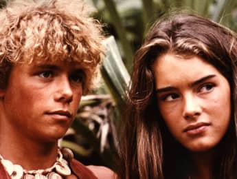 Christopher Atkins and Brooke Shields