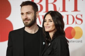 Courteney Cox And Johnny McDaid Send Message To Frontline Workers