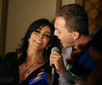 Verónica Castro y Cristian Castro