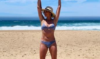 Daniela Ruah NCIS: Los Angeles Bikini Beach 2019