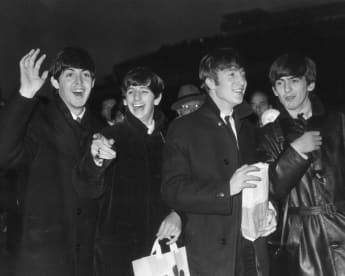 Paul McCartney, Ringo Starr, John Lennon y George Harrison
