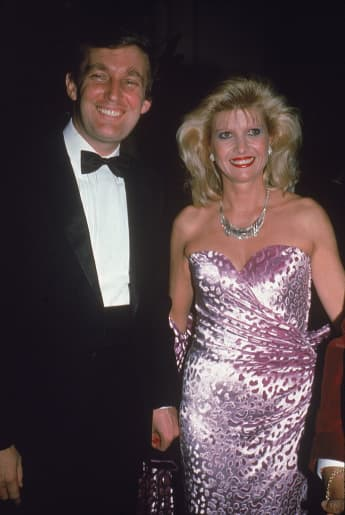 Donald Trump and Ivana Trump affair first marriage wife divorce