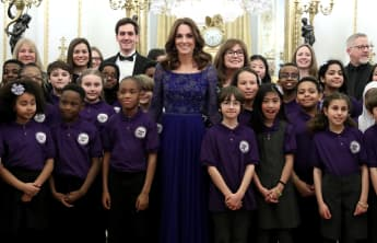 Duchess Catherine hosted a reception for the children's charity Place2Be on Monday evening.