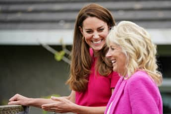 Duchess Kate And Jill Biden Step Out Together To Visit Preschool
