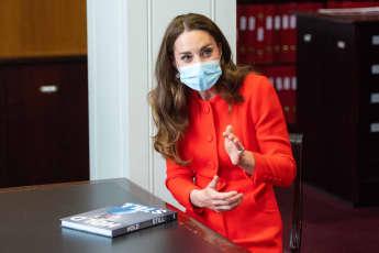 Duchess Kate Hides Copies Of 'Hold Still' Book Around London