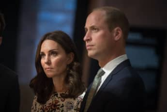 Duchess Kate's Reunion On Holocaust Memorial Day