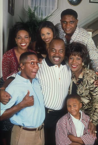Jaleel White and the cast of 'Family Matters'