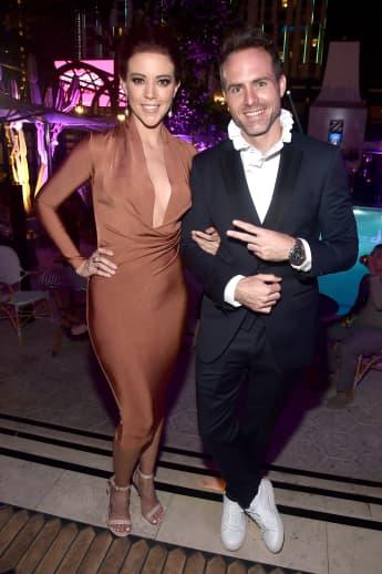 Fernanda Castillo y Erik Hayser