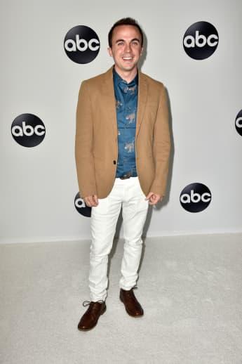 Frankie Muniz at the Disney ABC Television TCA Summer Press Tour, Beverly Hills, California, 2018.