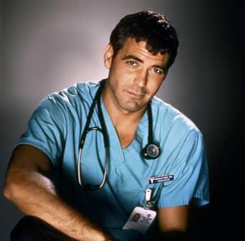 George Clooney in 'ER'.
