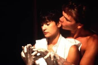 Demi Moore y Patrick Swayze en 'Ghost, la sombra del amor'