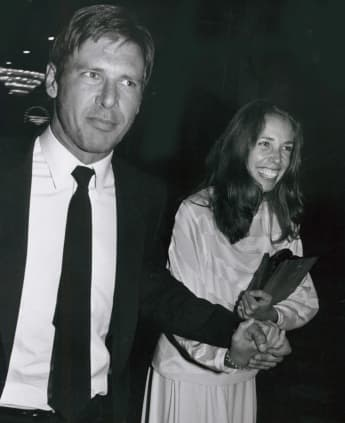 Harrison Ford and Melissa Mathison 1979.