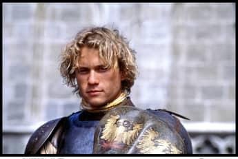 "Heath Ledger in ""A Knight's Tale"" (2001)"