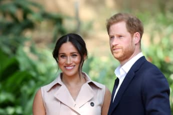 Duchess Meghan and Prince Harry on the second day of their visit to Johannesburg on October 2, 2019