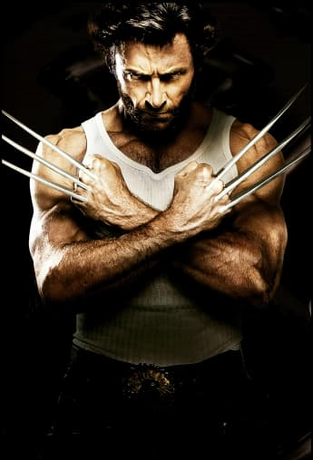 """Hugh Jackman as """"Wolverine"""""""