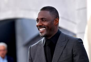 Idris Elba on the red carpet for Fast & Furious Presents: Hobbs & Shaw on July 13th