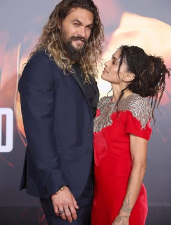 Jason Momoa Surprises Wife Lisa Bonet With Restored 1965 Mustang; Her 1st Car.