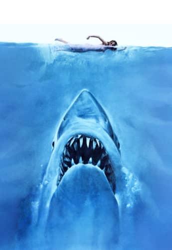 Tiburón, película de Steven Spielberg de 1975