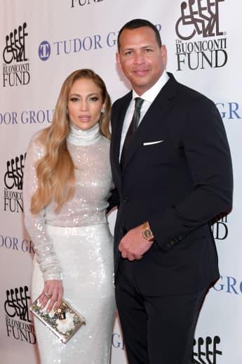 Jennifer Lopez and Alex Rodriguez got engaged