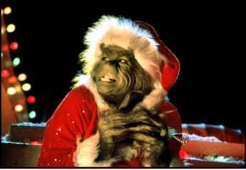 """Jim Carrey """"Grinch"""" 2000 How The Grinch Stole Christmas"""
