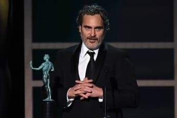 Joaquin Phoenix tributes his favourite actor, Heath Ledger in emotional SAG Awards Speech