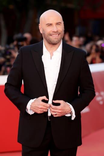 John Travolta en el Festival de Cine de Roma de 2019