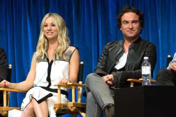 Kaley Cuoco Talks Awkward 'Big Bang Theory' Sex Scenes With Ex Johnny Galeck