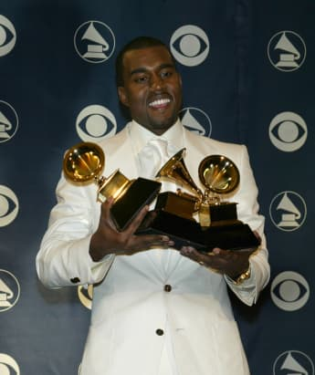 Kanye West Posts Video Urinating On His Grammy And Gets Banned From Twitter