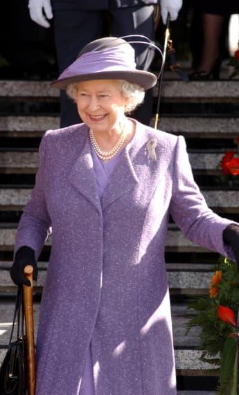 Queen Elizabeth II portrait Canada