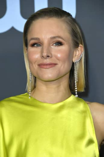 Kristen Bell attends the 25th Annual Critics' Choice Awards, January 12, 2020.
