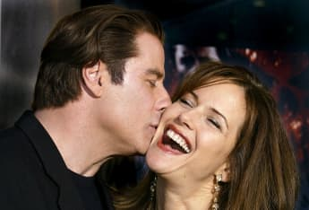 Las fotos más adorables de John Travolta y Kelly Preston