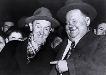 The tragic lives of comedians Stan Laurel and Oliver Hardy